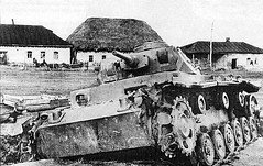 Destroyed by the pz. III somewhere South-East of Kharkov. May 1942