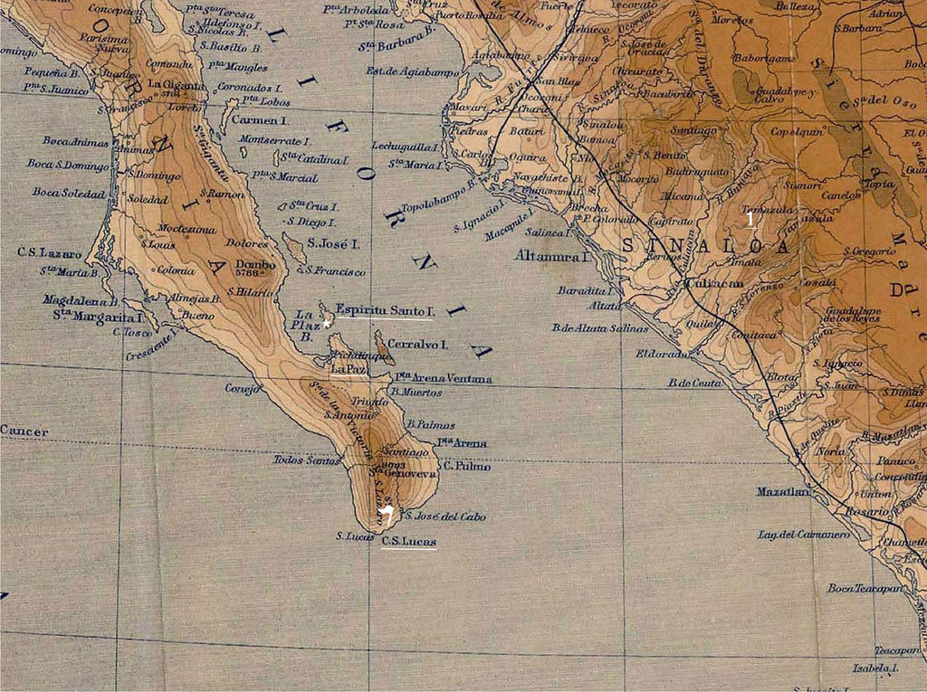 Mexico Old Map Richrodgers Tags World Ocean California Old Vacation Arizona Usa Chart