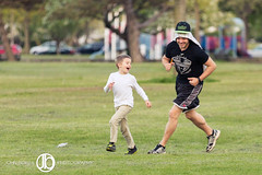 Chase (JohnBorsaPhoto) Tags: park family boy man fun kid child play father son running run dude chase lasalle kickball chasing