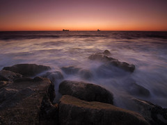 Playa Del Rey (OCDive) Tags: sunset beach del los long exposure angeles playa olympus rey ep1 dockweiler 918mm