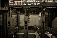 New York City Subway (Surrealplaces) Tags: new york city newyorkcity urban newyork skyline night centralpark gotham avenue prospect brookylnbridge newyorkcitysubwaybrooklyn
