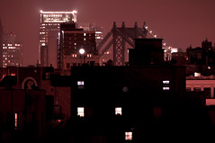 New York City (Surrealplaces) Tags: new york city newyorkcity urban newyork skyline night centralpark manhattanbridge gotham brookylnbridge
