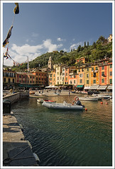 (The New Motive Power) Tags: italy water architecture port buildings boats cool fishing warm village bright h