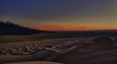 An Evening with the Dunes (dlanglois2) Tags: sunset panorama usa mountain clouds canon landscape sand colorado desert dune nik fourteener 14er hdr greatsanddunesnationalpark ellingwood sangredicristo