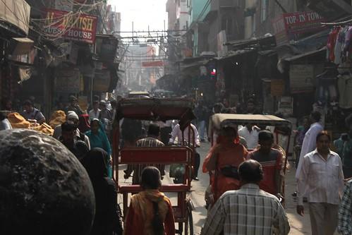 Chawri Bazar Street Scene, Old Delhi