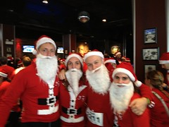 The Running Couples After the Santa Hustle 2011 5k
