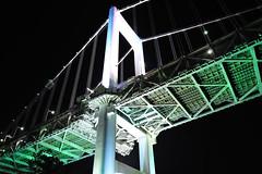 Rainbow Bridge (kazue.17) Tags: night tokyo  odaiba  rainbowbridge  d700 afsnikkor2470mmf28ged