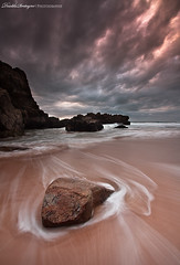 Terrific beach (Descliks2bretagne PHOTOGRAPHIE) Tags: ocean longexposure sea sky cloud mer france beach nature rock canon french sand brittany sable bretagne breizh ciel filter nuages plage morbihan hitech rocher fil filtre quiberon wildcoast ctesauvage poselongue 450d canonefs1022mmusm descliks2bretagne ledilhuitnicolas nd12softgrad
