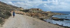 STB_3584 pano (Trujinauer) Tags: españa castle beach spain ramon plage almeria cabodegata rodalquilar parquenatural nijar cabodegatanijar castillodesanramon losplayazos senderolamolata