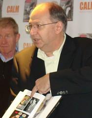 Chris Pickard Shows the book. (Ronnie Biggs The Album) Tags: ronnie biggs greattrainrobbery oddmanout ronniebiggs ronaldbiggs