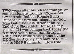 Mail  - Ephraim Hardcastle (Ronnie Biggs The Album) Tags: ronnie biggs greattrainrobbery oddmanout ronniebiggs ronaldbiggs