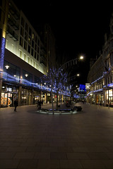 The Hays, Cardiff (TomLiaPhotography) Tags: christmas street night lights cardiff shops stdavids2 thehays