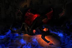 Amor Imposible (Explore!  13/12/11 #354) (fusky) Tags: dead nikon tokina muerte alas historia d90 fusky lightpanting