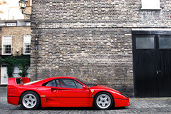 Best of the Breed. (Alex Penfold) Tags: auto camera red london cars alex sports car sport mobile canon photography eos photo cool flickr image south awesome flash picture super ferrari spot exotic photograph spotted hyper kensington mews supercar spotting exotica sportscar sportscars supercars f40 penfold spotter 2011 hypercar 60d hypercars alexpenfold