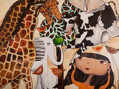 When giraffes were big (dyuminart1) Tags: artwork modernart kidsart artsandcrafts artprojects artandcraft childrensroom artideas artpictures artforchildren artforkids childrensrooms paintingsforkids artonline picturesandpaintings popularpaintings artworkfor artforfun paintingsforchildren paintingsof paintingpictures thepaintings drawingforkids yelenadyumin dyuminart paintingsfor forchildrenrooms