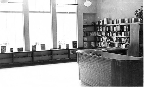 Gosford Library at time of opening at 54 Mann Street, December 1951