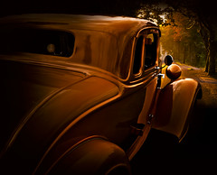 """Long road home"" (Neil Banich Photography) Tags: orange cars car automobile artistic details plymouth oldschool custom artcar 1934 hotrods ratrod autoart 5windowcoupe picturescar carscool 1934plymouth neilbanichphotograhy reflectionscool imagescool"