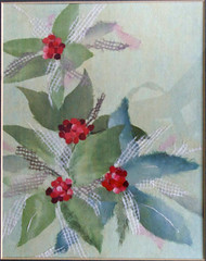 Leaves and Berries (sheiro) Tags: art leaves paper berries rippedpaper chigirie sheiro