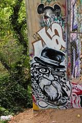Old Crow (You can call me Sir.) Tags: california old bridge graffiti bay east area bayarea crow northern