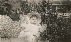 Carrie May Nauman & Unknown Baby