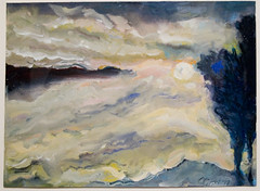 Olitsky Jules - 1998 - Silver Sunrise