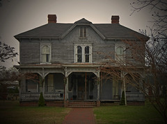 The Brooding Victorian:  Scotland Neck, NC (EdgecombePlanter) Tags: light shadow abandoned moody decay empty ghost gothic victorian eerie oldhouse greekrevival