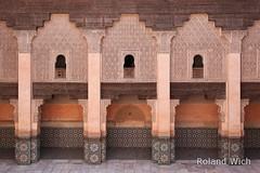 Marrakesh - Ali Ben Youssef Medersa (Rolandito.) Tags: ben ali morocco maroc marocco marrakech marrakesh marokko youssef medersa