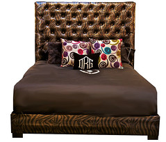 "4110 TIGER BED WITH CRYSTALS • <a style=""font-size:0.8em;"" href=""http://www.flickr.com/photos/43749930@N04/6585376487/"" target=""_blank"">View on Flickr</a>"