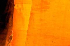 hunka (Steven Schnoor) Tags: orange color art metal colorful sheetmetal schnoor simplelogic