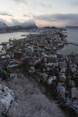 Ålesund (AdamKR) Tags: christmas uk cruise norway circle sony north arctic alpha dslr nordnorge hurtigruten 2011 a550