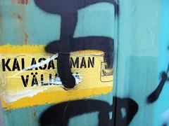 Kalasataman vliaika (neppanen) Tags: streetart art finland graffiti helsinki intermission legal kalasatama discounterintelligence sampen vliaika