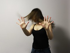 213.365 (kattra) Tags: selfportrait home hands december edmonton bodylanguage 365 hairflip
