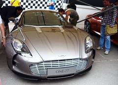 One-77 (BenGPhotos) Tags: car grey fos supercar goodwood astonmartin v12 177 festivalofspeed 2011 hypercar one77 onesevenseven