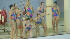 College Synchronized Swimming VID
