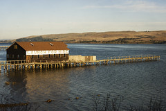 The boathouse............. (Michael Brooking Photography) Tags: water point bay nikon boathouse reyes tomales d700 michaelbrookingphotography