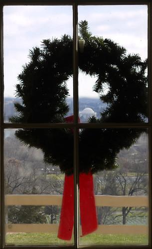 Wreath From Inside Lee's Arlington House