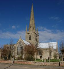 DSC06076 (tjsphotobrigg) Tags: uk england sunshine architecture buildings churches lincolnshire spire