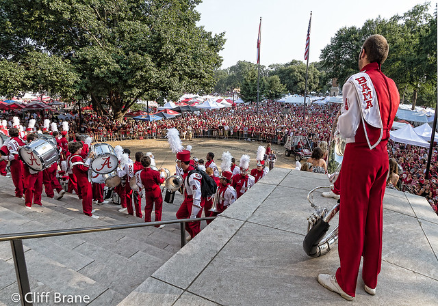 Assembly of Percussion & Brass at The UNIVERSITY OF ALABAMA