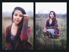 (SpencerFreeman) Tags: winter cold cute girl smile rain hair model pretty days spencer marisol freeman hernandez braid