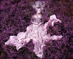"Wonderland ""Gammelyn's Daughter"" (Kirsty Mitchell) Tags: fairytale princess heather fantasy sleepingbeauty enchanted galleon kirstymitchell elbievaneeden wonderlandpartii gammelynsdaughter"