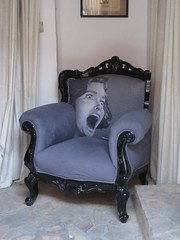 Scream (Satya W) Tags: dubai uae sofa scream