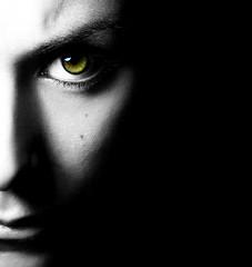 Nothing at all (Ana Murakami) Tags: bw white selfportrait black eye blanco dark ojo darkness negro bn autorretrato oscuridad
