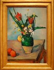 Paul Czanne (French, 1839-1906) The Vase of Tulips, c. 1890 (UGArdener) Tags: chicago impressionism artinstituteofchicago museums cezanne paulcezanne frenchimpressionism