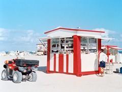 South Beach (Phillip Pessar) Tags: film beach analog minolta florida kodak miami south 110 400 expired sobe kodak400 autopak 460t