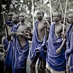 ball dels guerrers (hamerscat) Tags: ethiopia surma donga