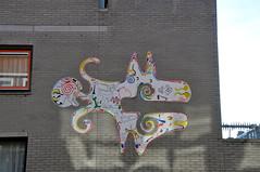Muurkunst Heidestraat Rotterdam (FaceMePLS) Tags: streetart art object kunst nederland thenetherlands streetphotography straatkunst rotterdamzuid straatfotografie kunstobject facemepls vogelaarwijk prachtwijk nikond300 krachtwijk kunstvoorwerp millinxbuurt