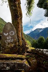 (Michał Olszewski) Tags: nepal water river asia land himalayas acap gandaki kaski annapurnaconservationarea modikhola annapurnaconservationareaproject