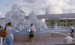 1982 EPCOT Center cheesecake (ddindy) Tags: orlando epcot florida disney disneyworld imagination waltdisneyworld epcotcenter journeyintoimagination