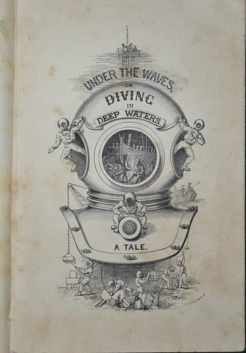 Under the Waves 1883 -Title  illustration
