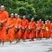 Monks procession